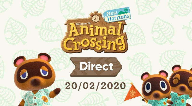 Animal Crossing Direct 2020