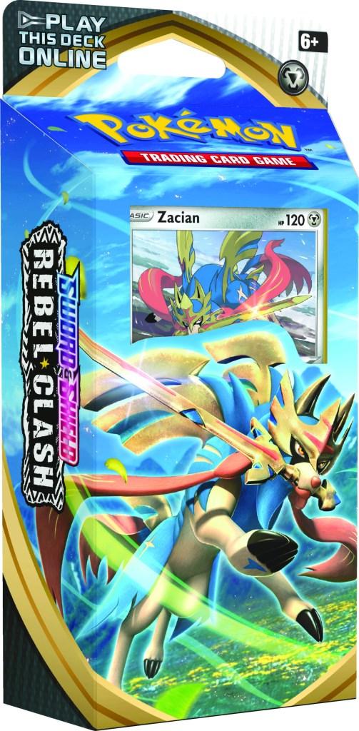 Rebel Clash Zacian Theme Deck