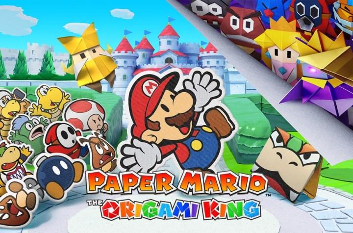 Paper Mario: The Origami King Keyart