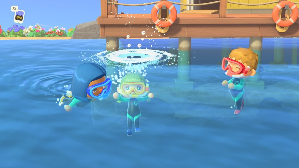 Animal Crossing Diving screenshot