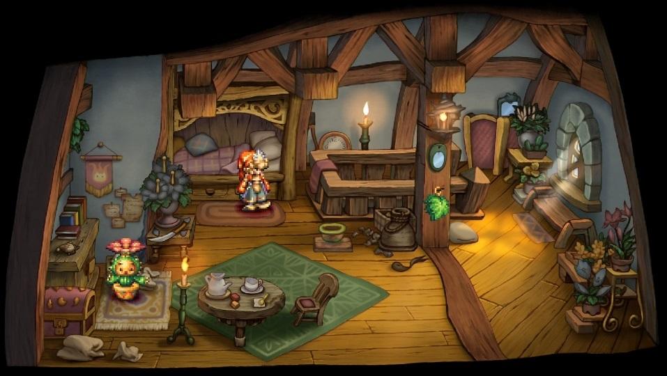 Legend of Mana house screenshot nieuw