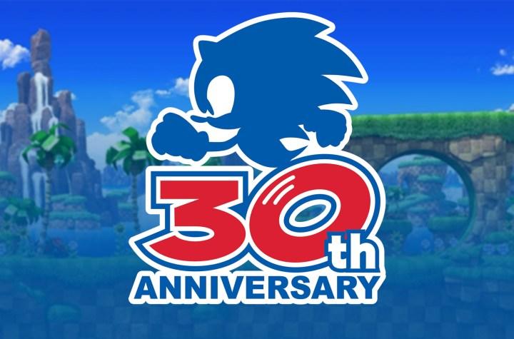 Sonic 30th Anniversary logo