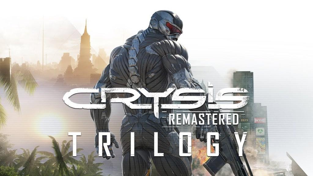 Crysis Remastered Trilogy keyart