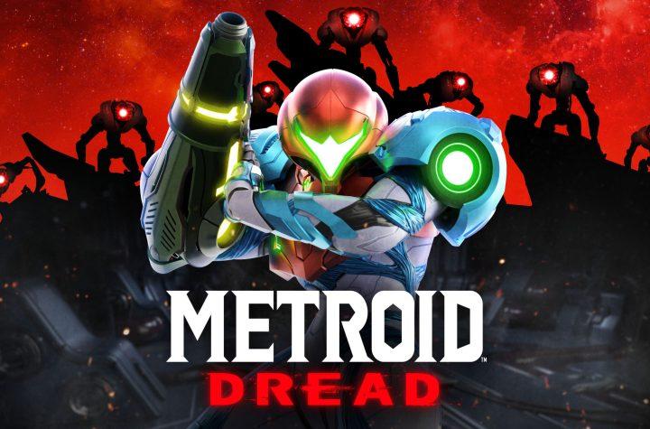 Metroid Dread Keyart
