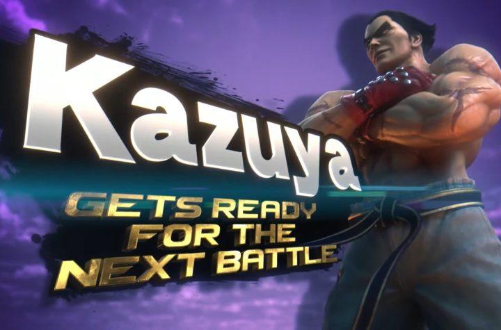 Kazuya Smash art