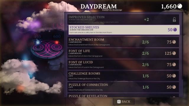 Dreamscaper - voorbeeld Daydream