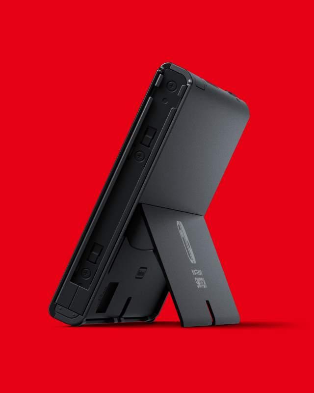 Switch OLED Backside