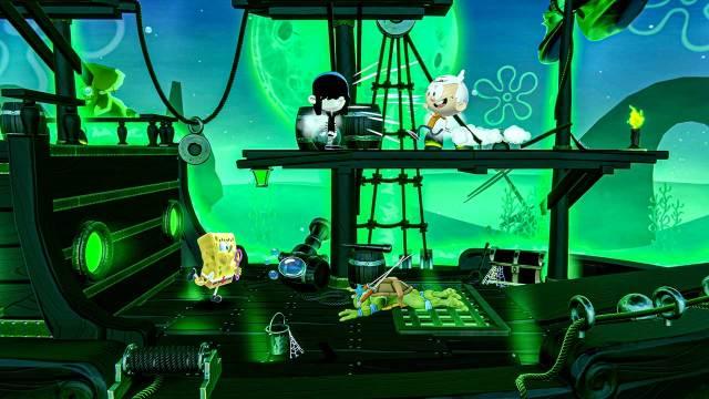 Nickelodeon All Star Brawl Spongebob