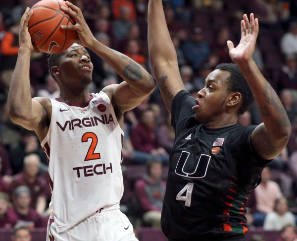 Miami survives in three overtimes to beat Virginia Tech in longest ACC game in 17 years