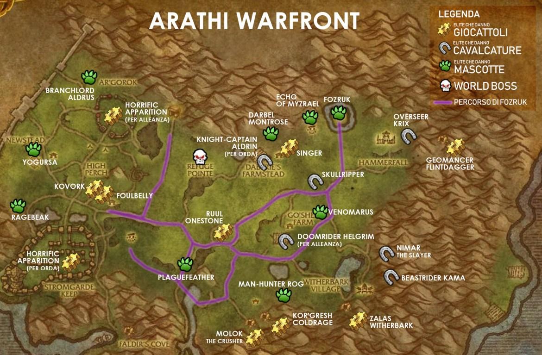 mappa arati new