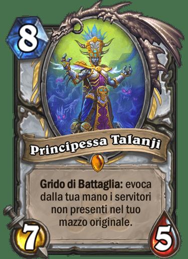 hs principessa talanji