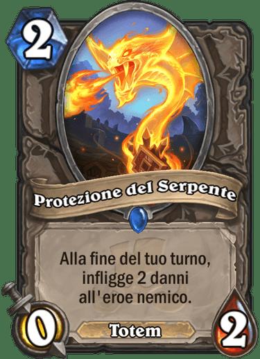 hs protezione del serpente
