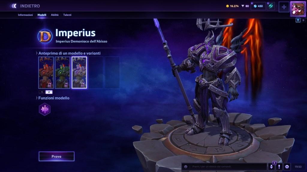 imperius demoniaco dell abisso