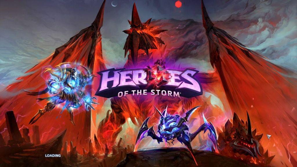 heroes schermata caricamento nexus oscuro