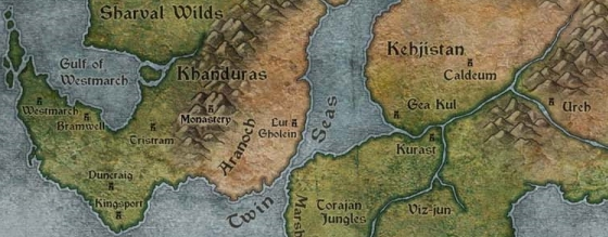 Mappa del Kehjistan