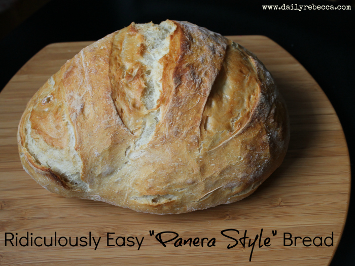 Ridiculously Easy Panera Style Bread