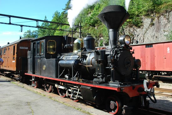 A Rolling Railway Museum in Norway