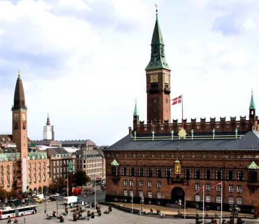 City Hall Square in Copenhagen