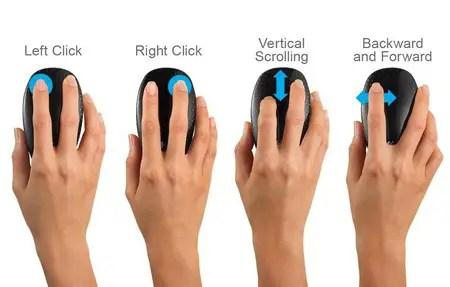 basic use of mouse