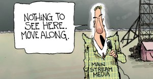 Collapsing media credibility