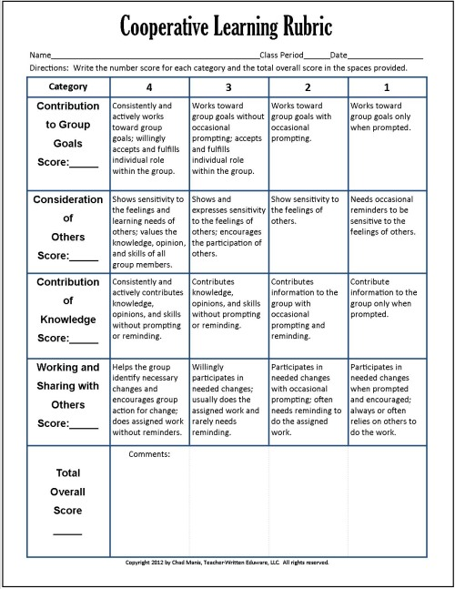 Research paper rubric     points Enchanted Learning