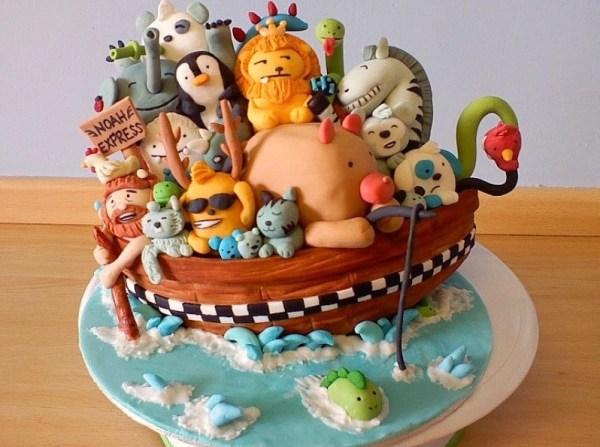 Gambar Kue Ulang Tahun Noah Express