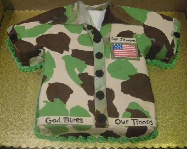 Kue Ulang Tahun Seragam Tentara
