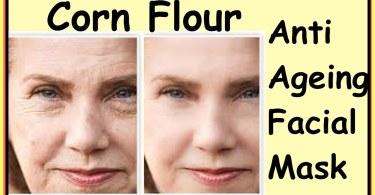 Corn Flour Face Mask