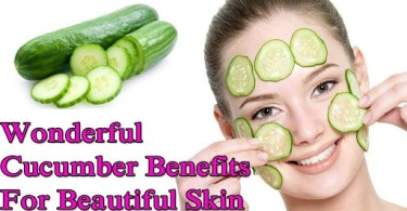 Effective Uses Of Cucumber For Skin
