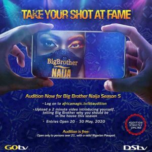 How To Audition For Big Brother Naija