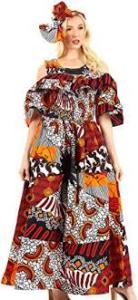 cold shoulder long gown