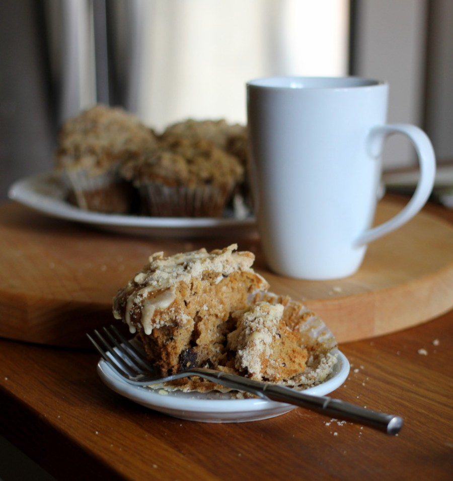 Clementine, Brown Butter & Dark Chocolate Chunk Muffins With Walnut Crumb Topping 15