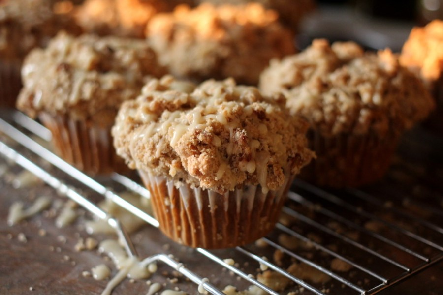 Clementine & Dark Chocolate Chunk Muffins With a Crumb Topping 3