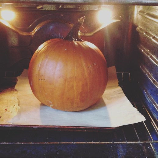 Whle roasted pumpkin Daily Tiramisu