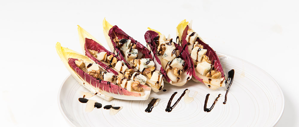 Treviso Radicchio and Endive cups
