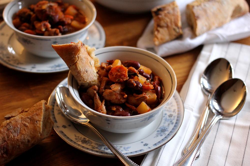 Spicy Italian Chicken Stew www.dailytiramisu.com