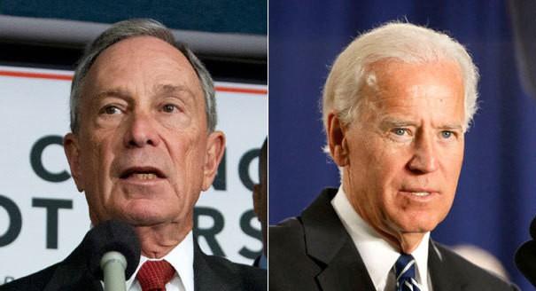 Biden holds the top, Bloomberg enters top 5