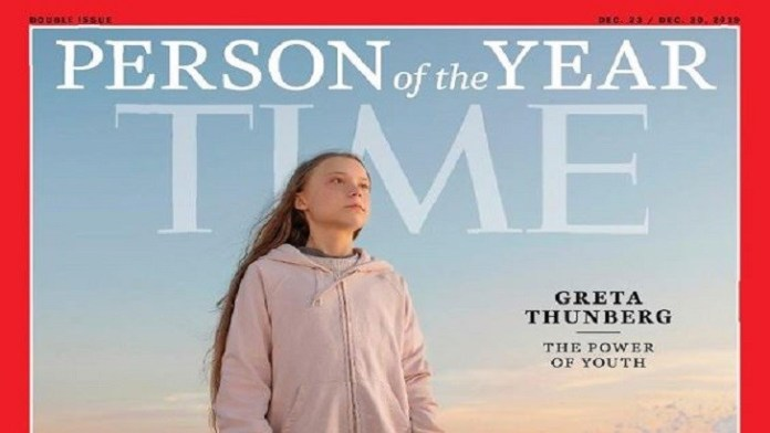 Greta Thunberg is 2019 Time's Person of the Year