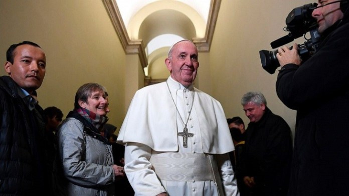 Pope urges to embrace change and warns of Christian decline