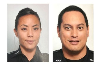 Two Honolulu police officers shot dead by a suspect