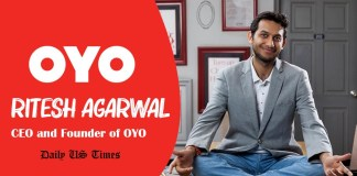 Ritesh Agarwal is an Indian entrepreneur, billionaire and the founder and CEO of OYO Rooms. Photo: Daily US Times