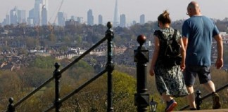 """How coronavirus is driving a revolution in travel. Sadiq Khan says Londoners have """"rediscovered the joys of walking and cycling during lockdown"""". Source: AFP"""
