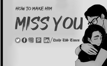How To Make Him Miss You More? Stop all communication and make him miss you like crazy. Photo: Daily US Times