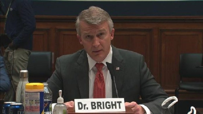 US is facing its 'darkest winter', 'ousted' expert Rick Bright says