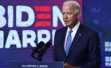 Joe Biden calls for police to be charged over shootings