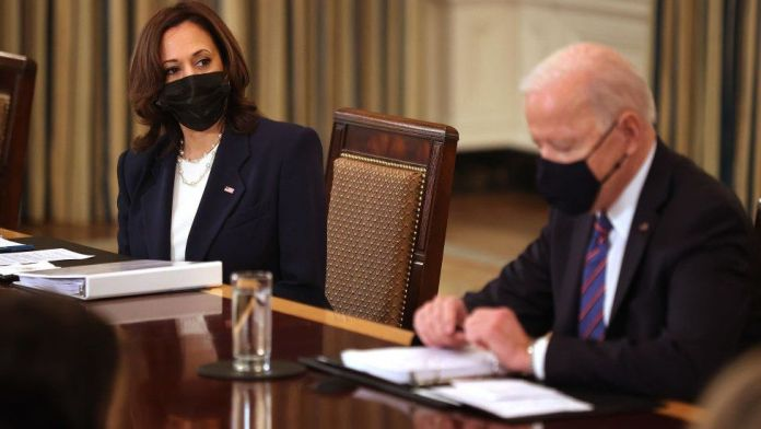 Biden tasks Harris with tackling migrant influx on US-Mexico border