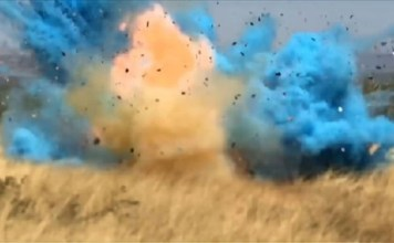 Gender reveal party using 80 pounds of explosives sets off earthquake reports