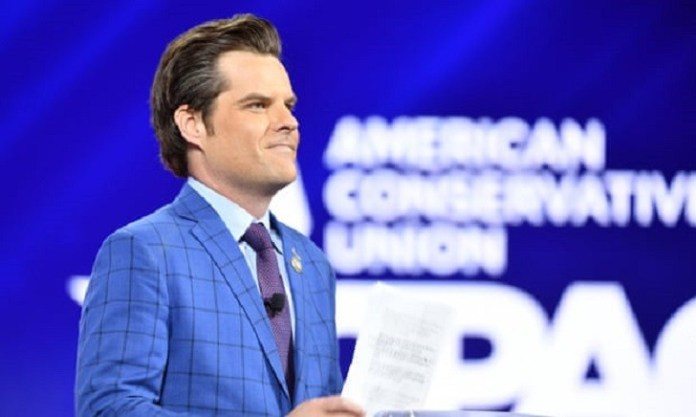 Republican Matt Gaetz faces calls to resign from member of his own party