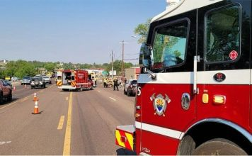 Arizona police shoot driver who crashed into charity bike ride