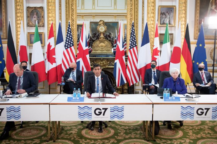 G7 countries near global corporate tax deal as finance ministers meet